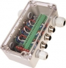 NMEA 2000 Network Block 6 micro female drops power feed a