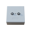 SEAS O-TV/R-F TV/Radio outlet incl. cover std for F-conn
